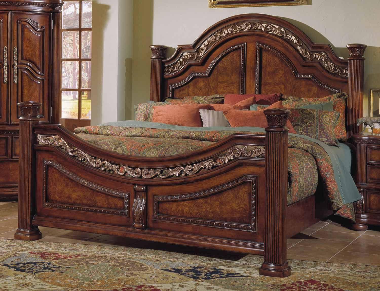 Pulaski San Marino Bed Pf 3530 Bed At Homelement Com Bedroom Furniture Beds Bed Furniture Queen Size Bed Frames
