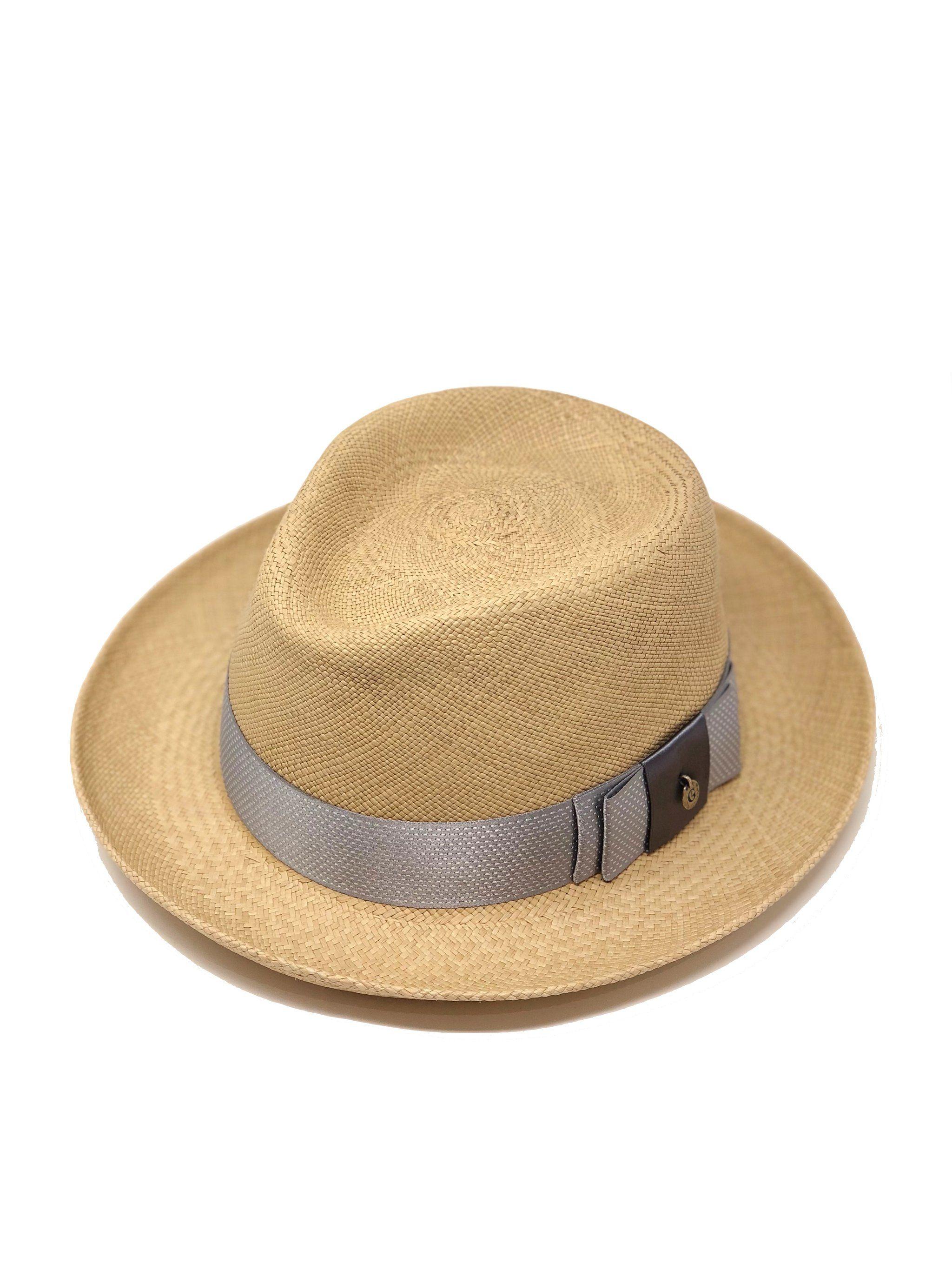 Urbano Trigo Genuine Panama Hat Fedora Kalap fbfb829547