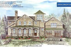 Timber Bluff Cottage House Plan