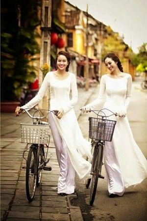 Pakaian Tradisional Vietnam : pakaian, tradisional, vietnam, Ilustrasi, Wanita, Vietnam, Dengan, Pakaian, Tradisional, Model, Asia,
