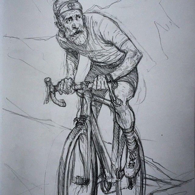 @karlkopinski Cyclist doodlingInstagram photo | Websta (Webstagram)