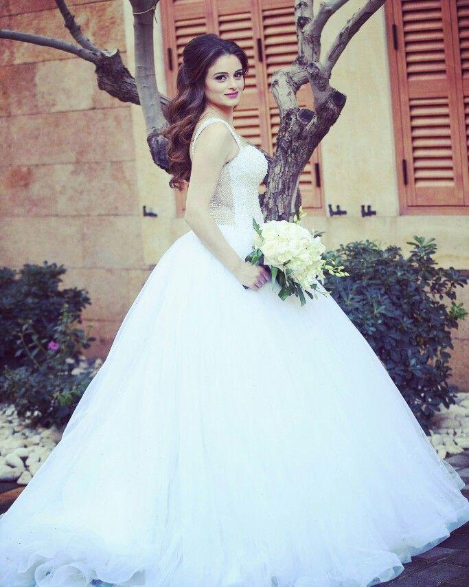 Natural Bridal Hair Style Half Updo Wavy Hair Style By Hisham