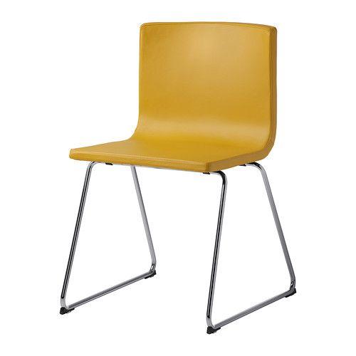 Sillas cocina. IKEA - BERNHARD, Silla, El asiento es cómodo y ...