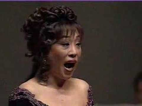Sumi Jo - Leo Delibe's opera: Lakme - Bell Song (aria de Clochettes)