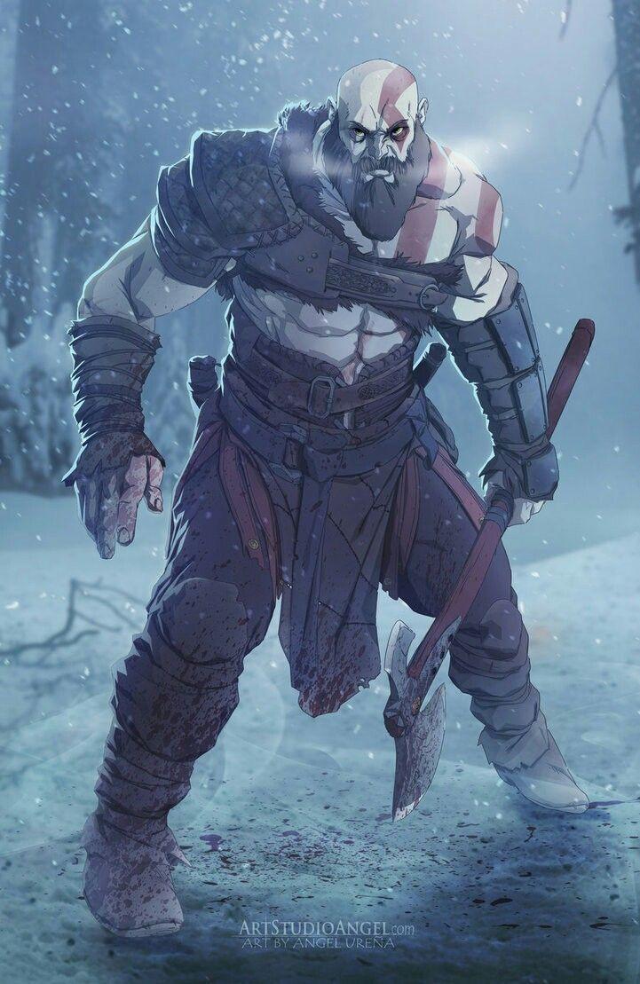 Old Kratos | God Of War | Kratos god of war, God of war, War