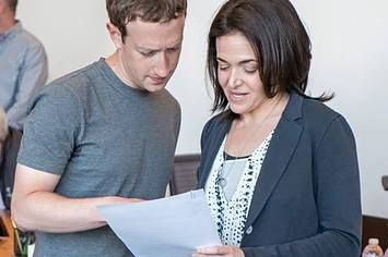 Mark Zuckerberg Addresses Sharing Decline Reports As Facebook Crushes Earnings