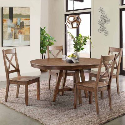 Buy Dining Possibilities 5 Piece Round Table With X Back Chairs At Jcpenney Com Today And Enjoy Great Dining Room Sets Outdoor Dining Chairs Ladder Back Chairs