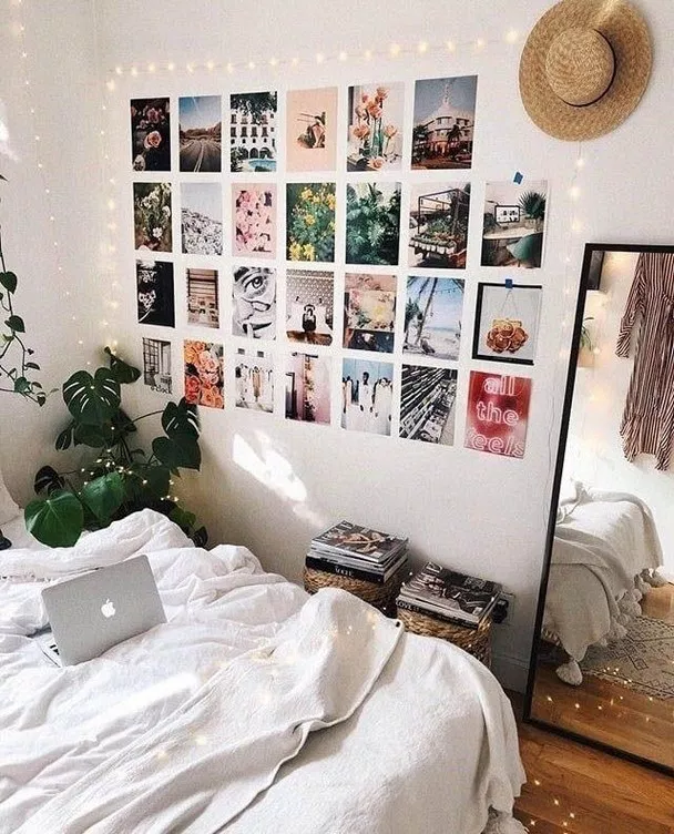75 Gorgeous Bedrooms That Will Inspire Some Big Ideas 10 Dorm Room Wall Decor Dorm Room Decor College Dorm Room Decor