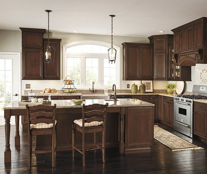 Thomasville Cabinetry. Addington cherry french roast ...