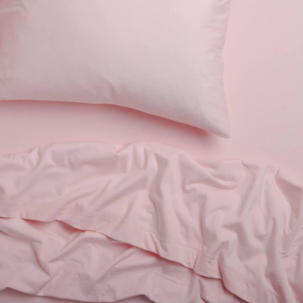 Light Pink Super Soft T Shirt Jersey Sheet Set Dormify In 2020