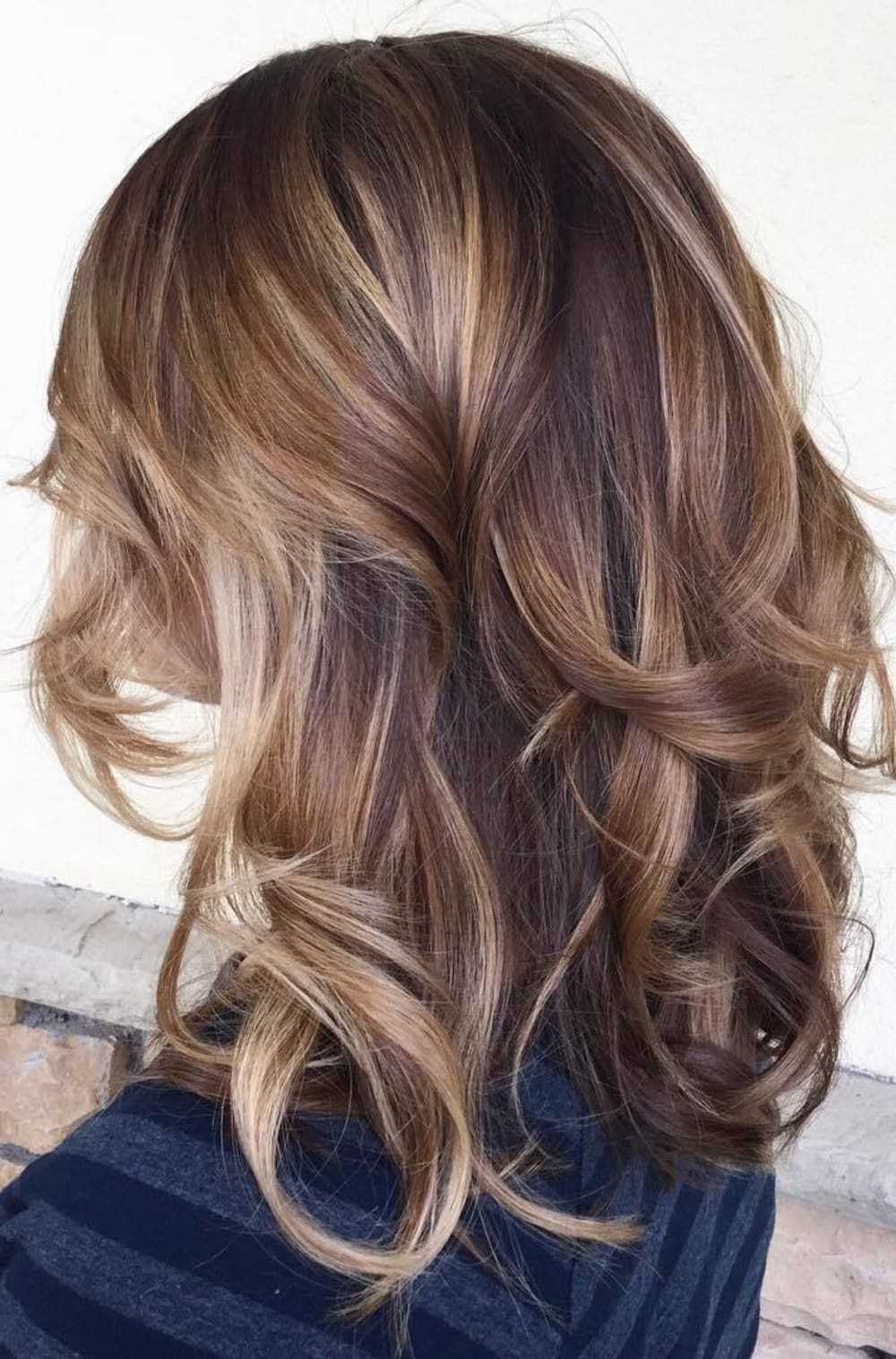 flattering balayage hair color ideas for cute hairstyles