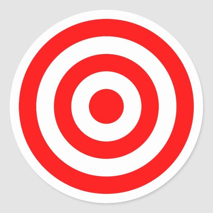 Pin By Zero84 Apparel On Botakz In 2021 Bullseye Target Stickers Custom Round Stickers
