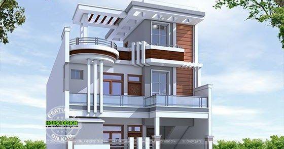 2600 Square Feet Cute Contemporary Style Decorative E House Architecture By S I Consultants Agra Uttar Pradesh India