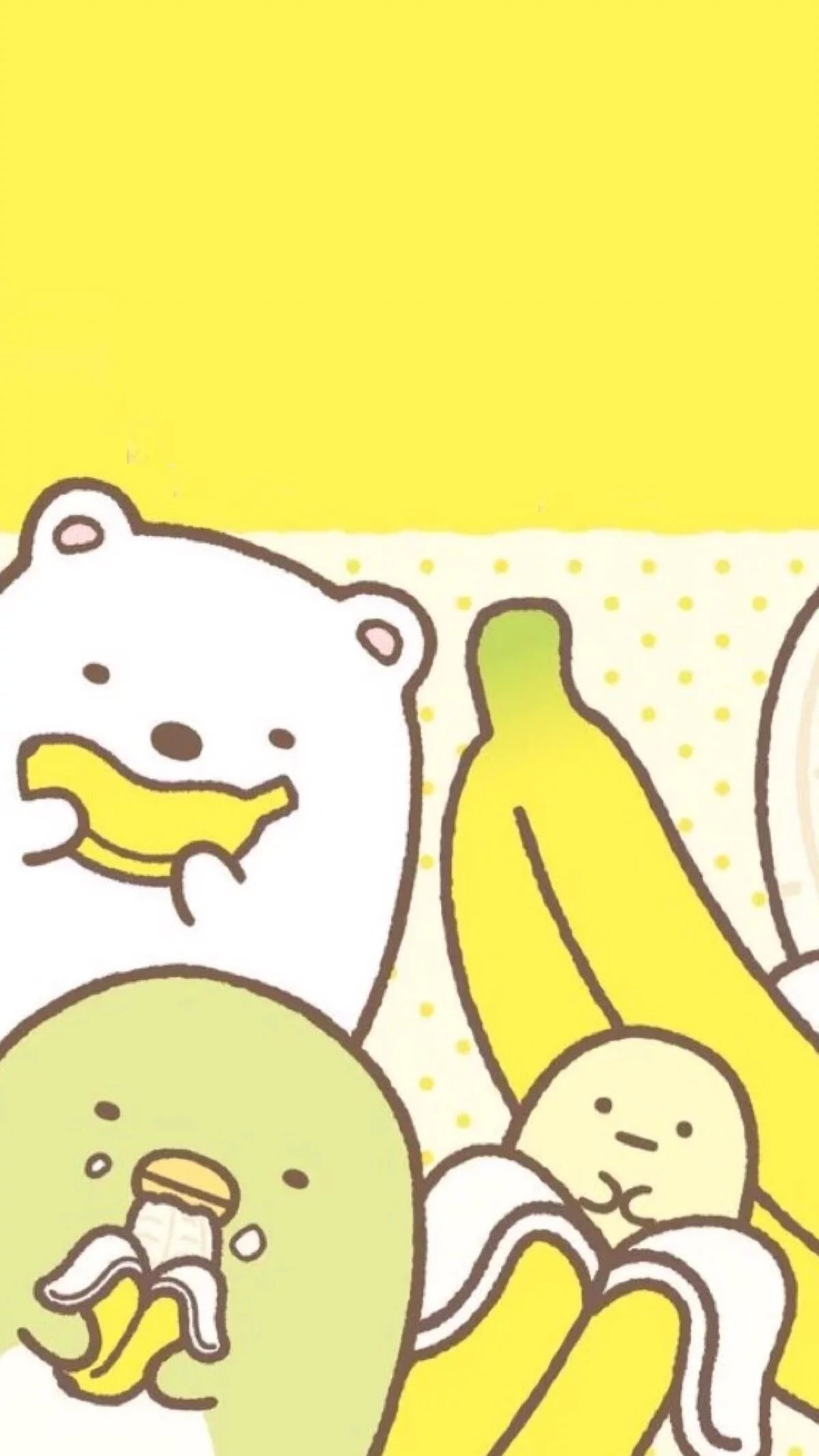 Wallpaper iphone banana - Kawaii Stuff Sanrio Iphone Wallpaper Doodles Cartoons Ipad