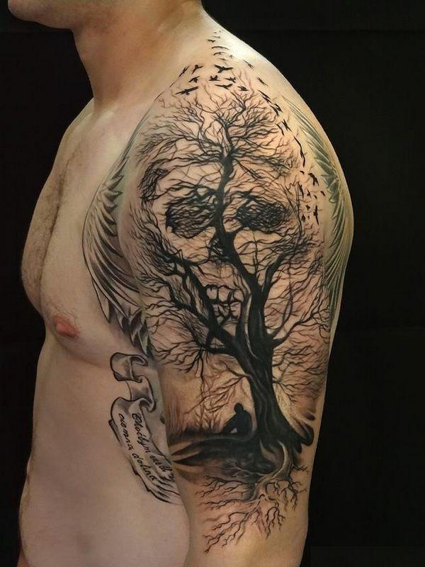 85 Besten Sugar Skull Tattoo Designs Bedeutungen Für Männer Und