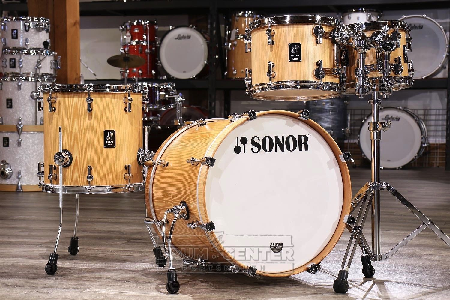 Sonor Prolite Studio Drum Set Natural Finish - Blowout Deal in 2019