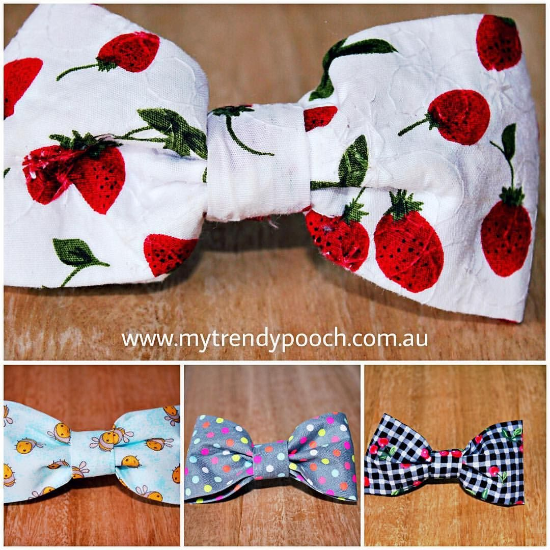 Bow Ties For Your Four Legged Friends Check Out Our