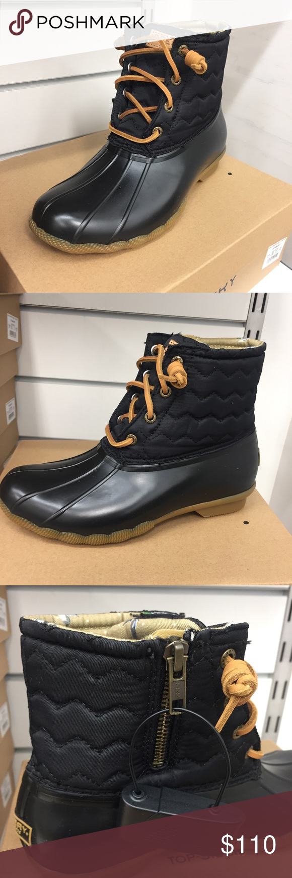 🥾Sperry Quilted Muck Boots🥾 in 2020