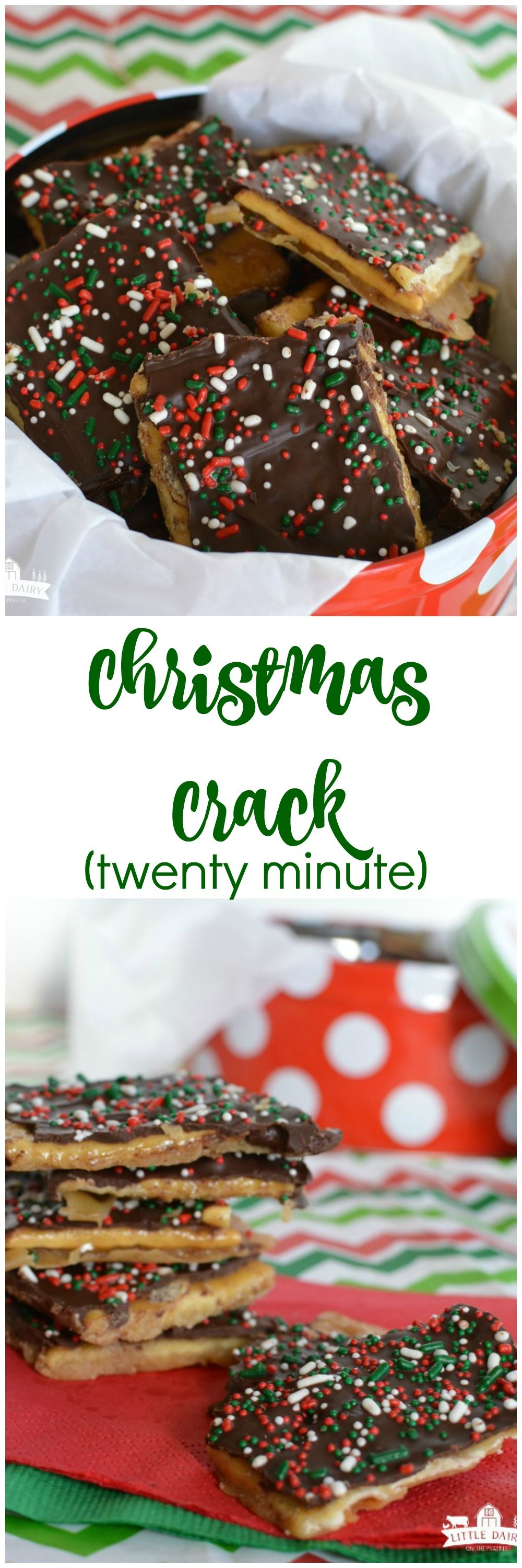 20 minute christmas crack if you are nervous to make full blown toffee you need to try this its only takes five ingredients and even my kids can make it