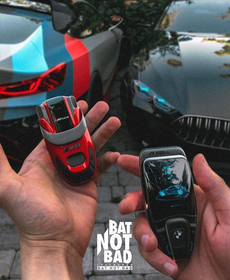Supercar Keys Bmw Digital Key Designed By Bat Not Bad Super Super Cars Sports Cars Luxury Futuristic Cars