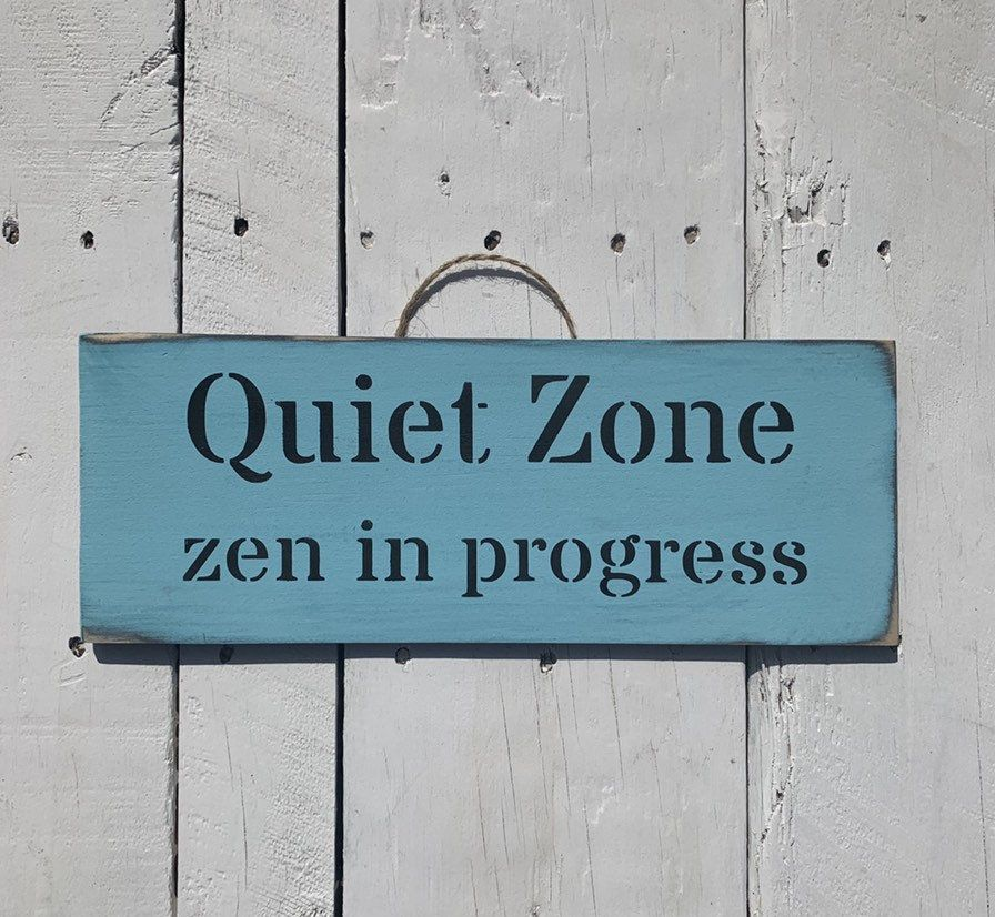 Excited to share this item from my etsy shop quiet zone