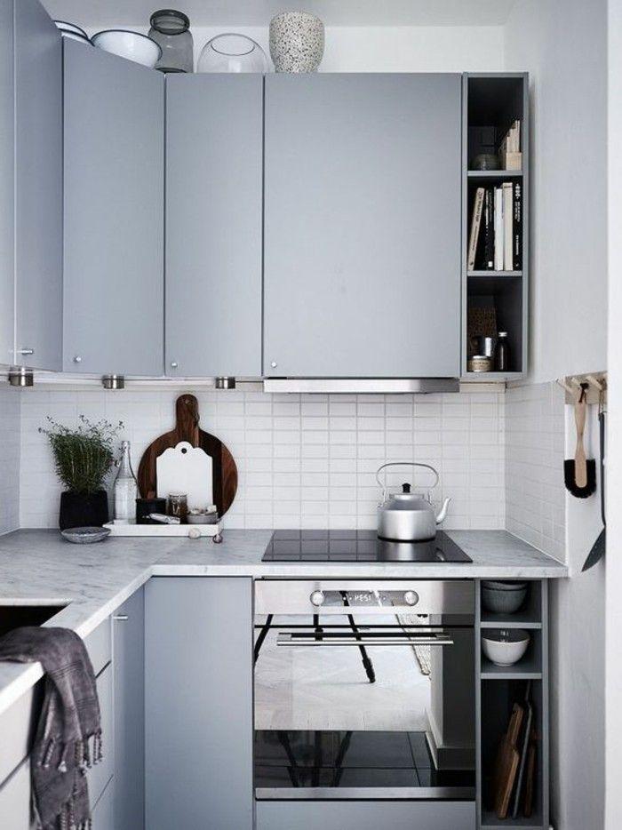 Arredamento cucina stile moderno, color tortora abbinamenti, faretti ...