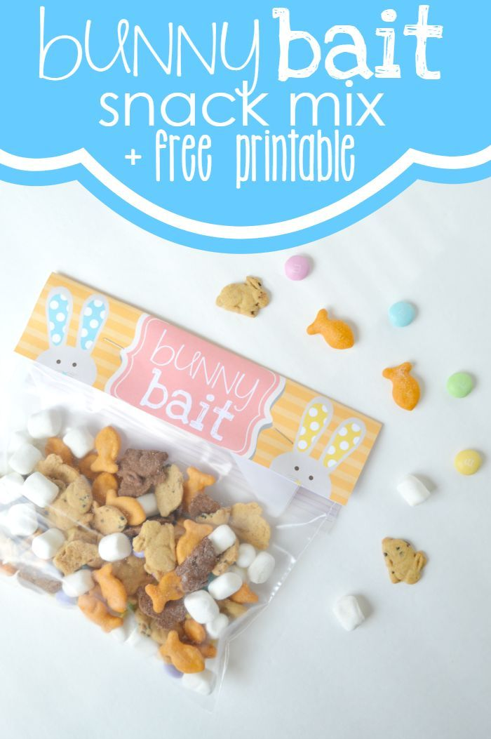 Bunny bait easter snack mix a free treat bag topper printable bunny bait easter snack mix a free treat bag topper printable negle Gallery