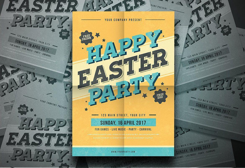 Easter Flyer Easter flyers, Flyer, Easter