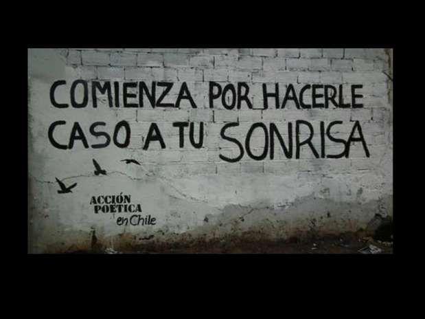 Poesía callejera....  #chile #inspiracion #inspiracionpoetica #poesia