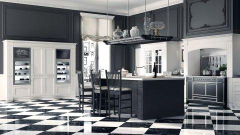 Nuova interpretazione dello stile inglese, la cucina