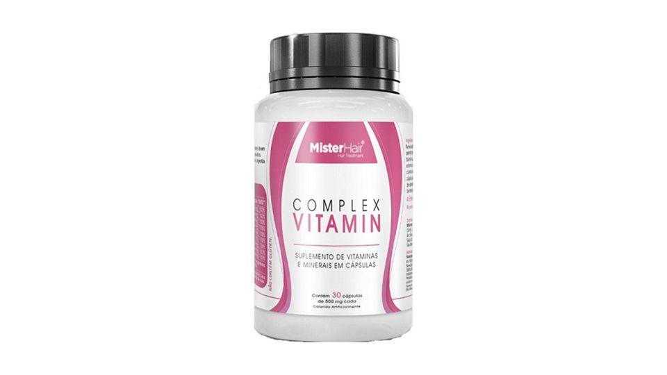 Vitamina Complex Vitamin Mister Hair E Boa Onde Comprar