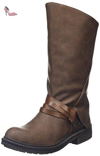Octave, Boots Femme - Marron (BRN), 37 EU (5 UK)Blowfish