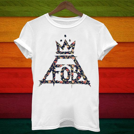 Fall Out Boy T Shiirt Music T Shirt Band T shirt by AshabatTees, $17.97