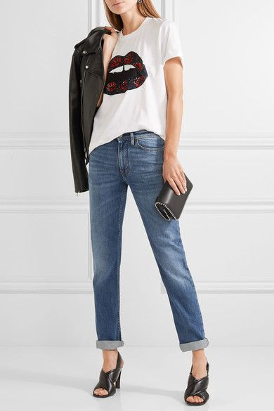 6aac9a4ba0965 ACNE STUDIOS South women s mid-rise straight-leg blue jeans in 2019 ...