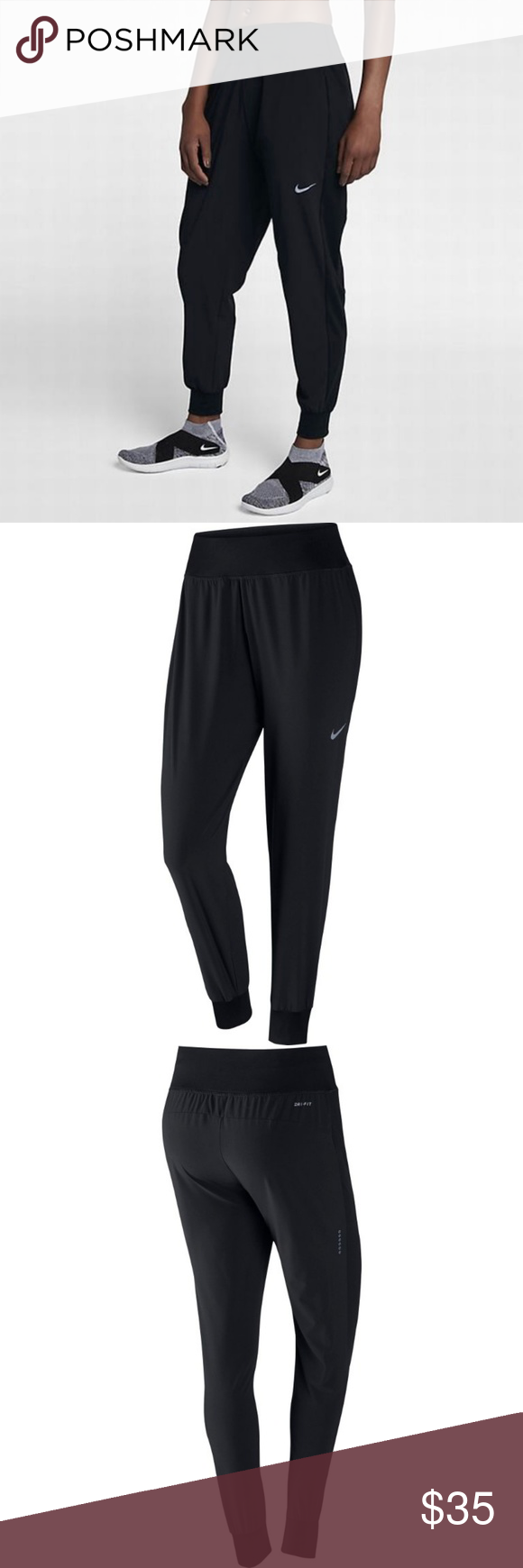 bace609bc18b2 Nike Power Flex Essential Slim Fit Pants New With Tags 100% Authentic,  Guaranteed!