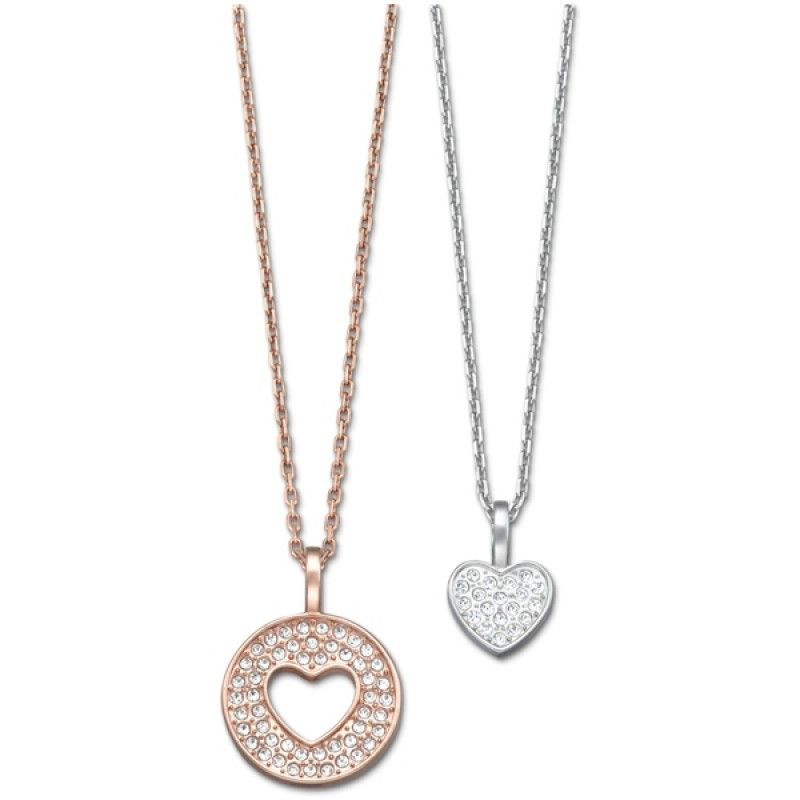 Swarovski Amorous Mix Pendant Set £79  #love #heart #sparkles #romantic #forever #jewellery #InspiredBy