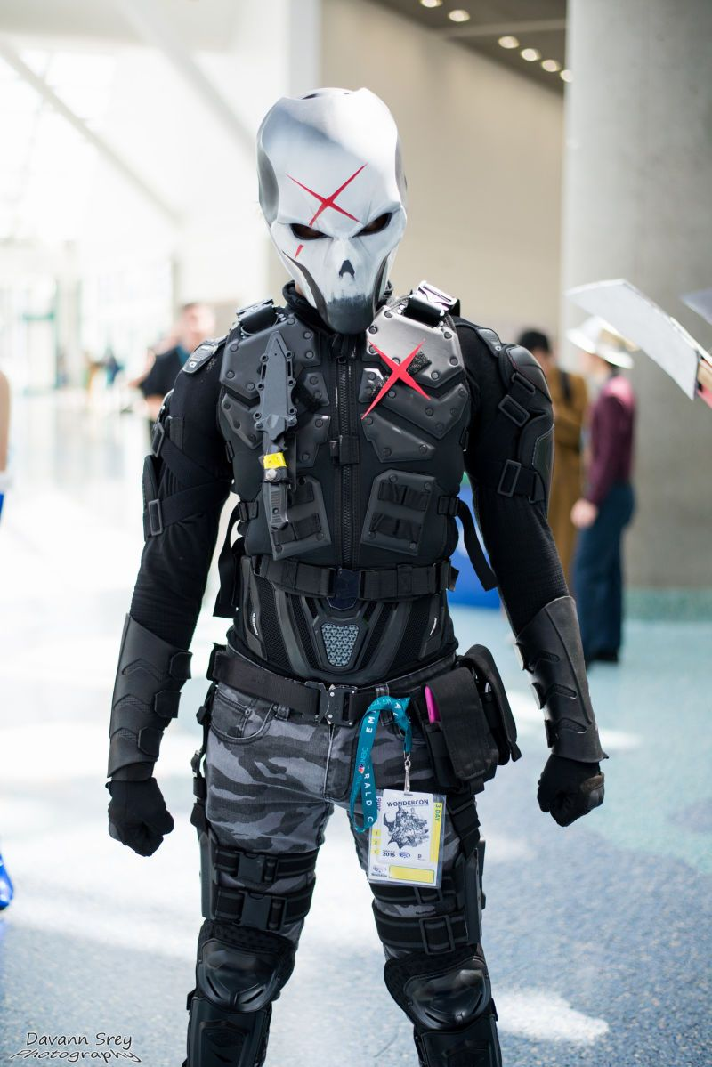 Red X  Deathstroke Cosplay, Cosplay Costumes, Cosplay Armor-7935
