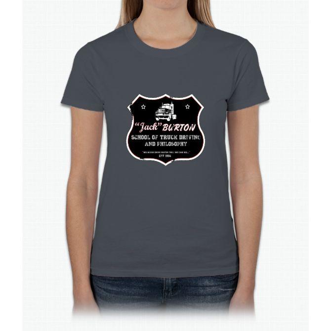 Jack Burton Trucking Womens T-Shirt