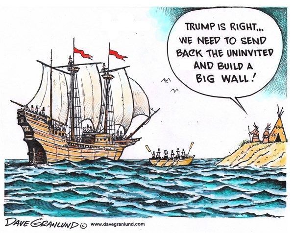Image result for donald trump wall comic