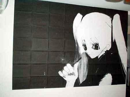 Wall Art Generator Rasterbator Art Wall Art Anime