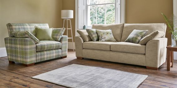 Superieur Buy Stamford Small Sofa (2 Seats) Soft Plain Mid Stone Large Square Angle    Light From The Next UK Online Shop