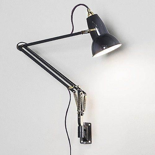 Original 1227 Brass Wall Mount Wall Mounted Lamps Anglepoise