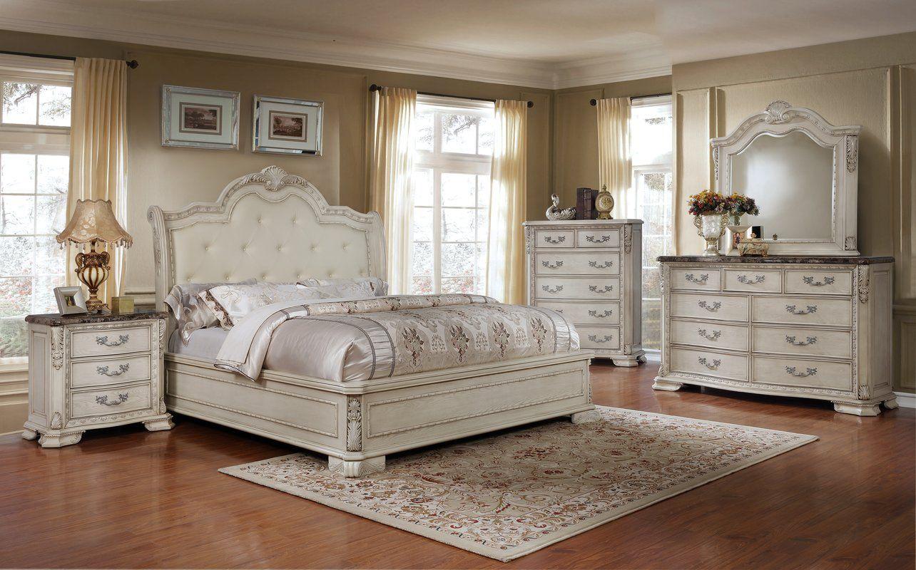 Lankford Standard 4 Piece Bedroom Set With Images Bedroom Sets
