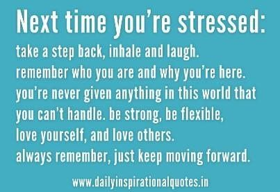 #stress #getoverit #regroup