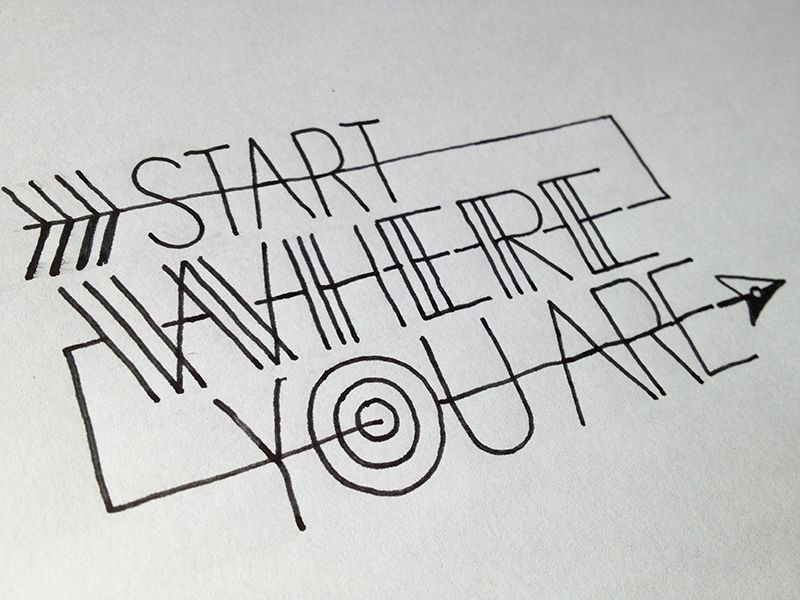 Typography mania abduzeedo design inspiration