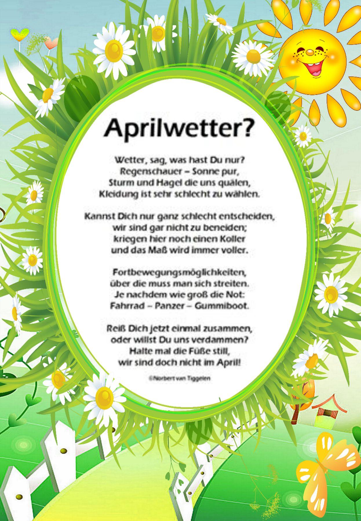 Pin Von Tina Compernaß Auf Senioren Kinder Gedichte