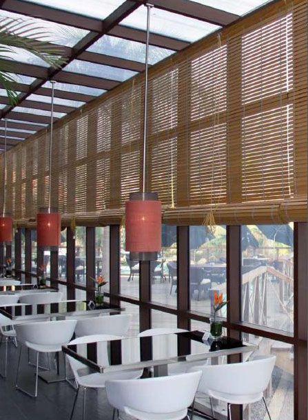 Persiana alicantina madera estores de exterior for Estores de madera