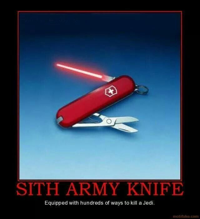 Sith Army Knife Things We Like Spr 252 Che