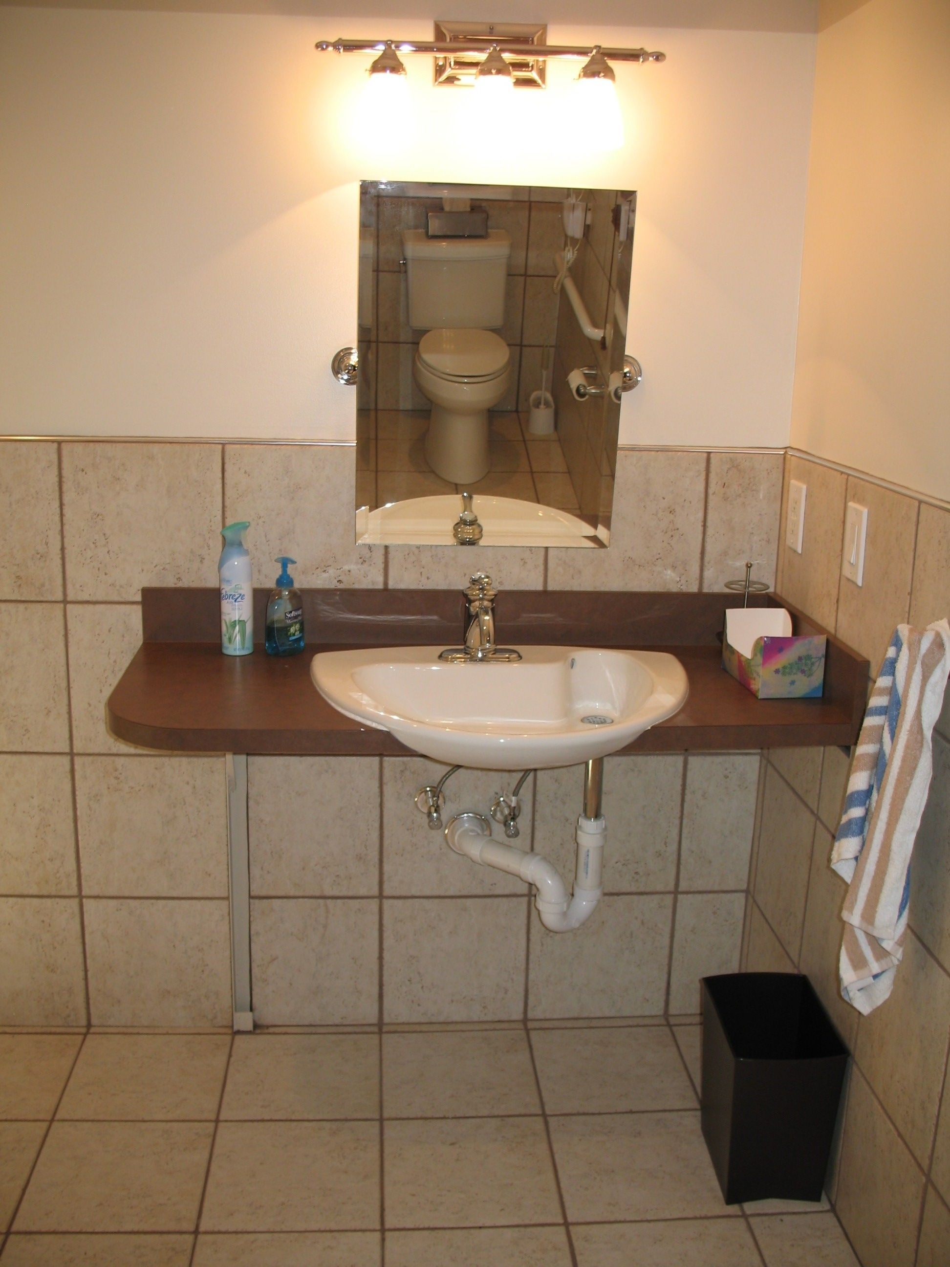 Universal Design Bathroom Sink DisabledBathrooms See More At - Disabled bathroom fixtures