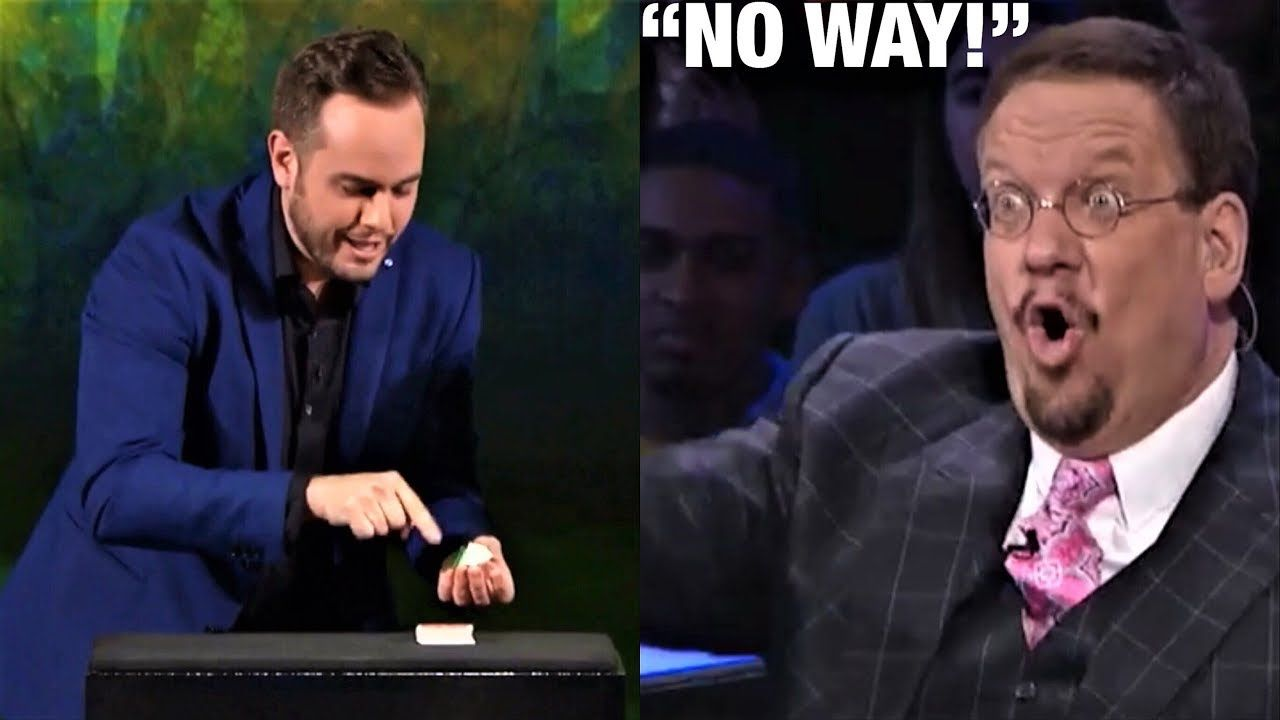 shocking card trick confuses penn  teller impossible